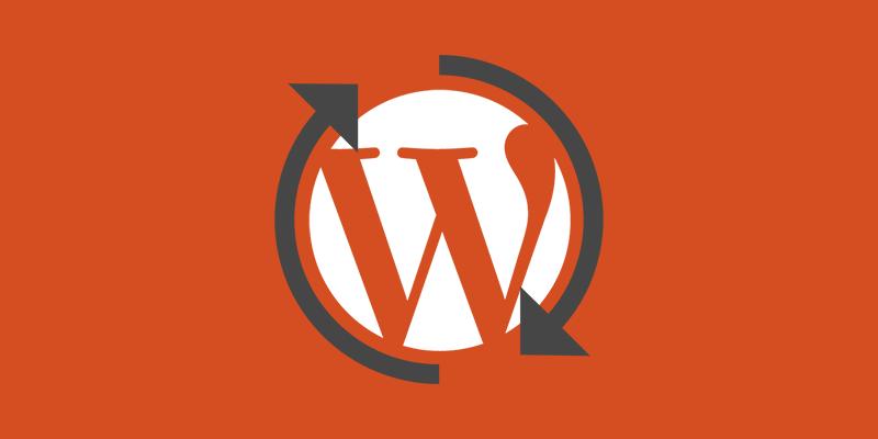 atualização automática do wordpress