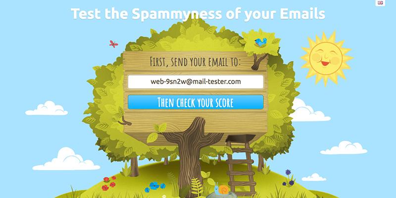 testar se seu e-mail marketing é spam